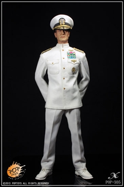 1/6 Pop Toys Navy Captain Uniform