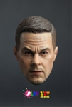 Caucasian Head Sculpt - Play Toy - 1/6 Scale