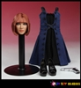 Fit and Flare Dress with Character Sculpt H005 - Play Toy 1/6 Scale Accessory