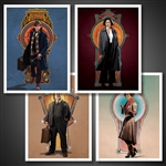 Fantastic Beasts Art Print Set 3-Quantum Mechanix