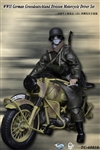Motorcycle Driver Set - Grossdeutschland - WWII German - Toys City 1/6 Accessory Set