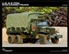 1/6 scale metal collectible of World War II-era 2.5-ton US Army Truck Deuce and a Half.