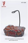 Volcanic Rock Figure Stand for Raksa - Very Cool 1/6 Figure