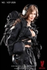 Female Shooter in Black  - Very Cool 1/6 Figure