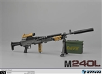 M240L Rifle - ZY Toys 1/6 Scale