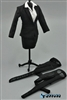 1/6 Women's Suit Set - Dark - ZY Toys