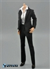 1/6 Women's Trouser Suit Set - Black - ZY Toys