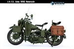 WWII U.S. Military Motorcycle - ZY Toys - 8038