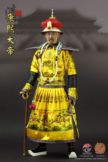 Emperor Kangxi the Great - Qing Dynasty - 303 Toys ES3001