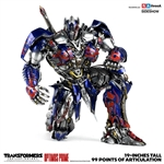 Optimus Prime Premium Scale Collectible Series - Transformers: The Last Knight - Collectible Figure - ThreeA