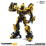 Bumblebee Premium Scale Collectible Series - Transformers: The Last Knight - Collectible Figure - ThreeA
