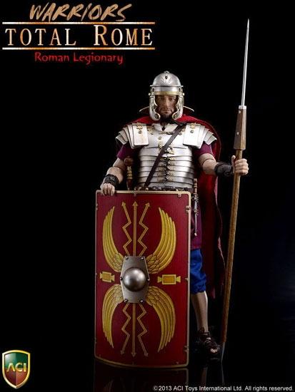 1//6 ACI Toys Warriors Total Rome Roman Legionary Head sculpt+Medium body+hand