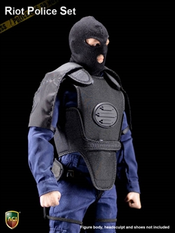 Power Set: Anti-Riot Police (Light Armor Version) - ACI 1/6 Scale Accessory