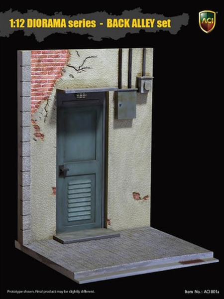 The Engine Room From Way Back: 1/12 Scale Diorama Base