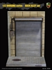 Roller Shutter Door - 1/12 scale Back Alley Diorama Base - ACI Toys