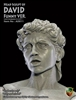 David Funny Head Sculpt - Marble Color - ACI 1/6 Articulated Statue