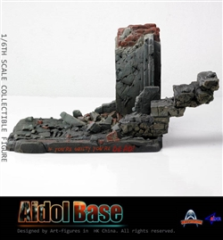 Base For Aidol 1 Alpha and Beta Versions - Art Figure 1/6 Scale Figure