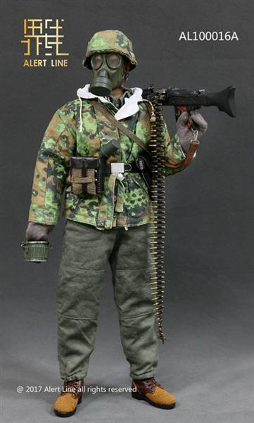 SSM MG42 Machine Gunner Set - World War II - Alert Line 1/6 Scale Accessory  Set