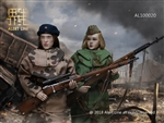 Soviets Female Soldier Sniper Set - Alert Line 1/6 Scale Figure