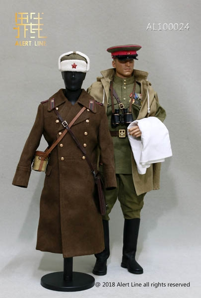 365831684 Red Army Infantry Senior Lieutenant Officer Set - World War II Soviet 1942  - Alert Line 1/6 Scale Accessory Set