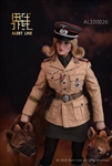 German Afrika Female Officer Figure - World War II - Alert Line 1/6 Scale Figure