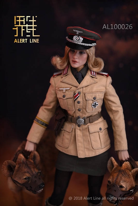Female Nude Body Female SS Officer 1//6 Scale Very Cool Action Figures