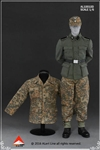 Wehrmacht Camouflage Uniform Set D - Alert Line 1/6 Scale Accessory Set