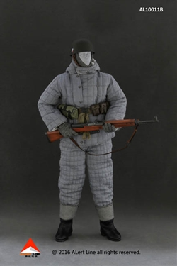 Wehrmacht Paratroopers Double-Sided Cotton-Padded Jacket Suit Set B - Alert Line 1/6 Scale Accessory Set