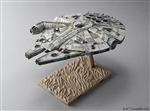 Millenium Falcon - Star Wars: The Force Awakens - Bandai Star Wars 1/72 Plastic Model