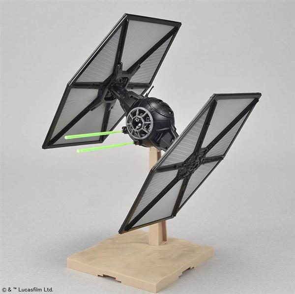 TIE Fighter - Star Wars: The Force Awakens - Bandai 1/72 Plastic Model
