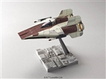 A-Wing Starfighter - Bandai Star Wars 1/72 Plastic Model