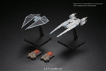 "U-Wing Fighter & Tie Striker ""Rogue One: A Star Wars Story"", - Bandai Star Wars 1/144 Plastic Model"