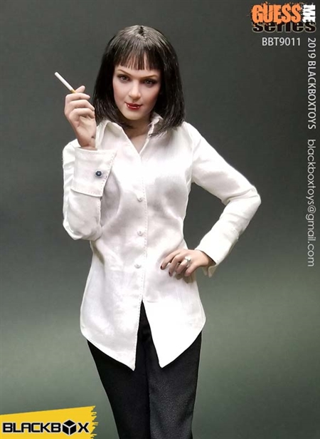 Fiction Girl - Guess Me - Black Box 1/6 Scale Figure