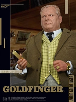 Auric Goldfinger - Big Chief 1/6 Scale Figure