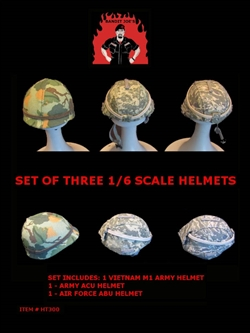 Helmet Set - Bandit Joe 1/6 Scale