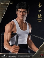 Bruce Lee: Tribute Version 4 - Blitzway 1/4 Hybrid Scale Statue