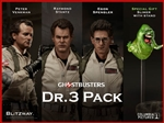 Ghostbusters 1984 - Set of Three Doctors - Blitzway 1/6 Figure