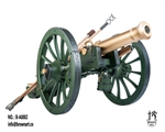 French Gribeauval Cannon - 12 Pounder - Napoleonic Era -  Brown Art 1/6 Scale Accessory