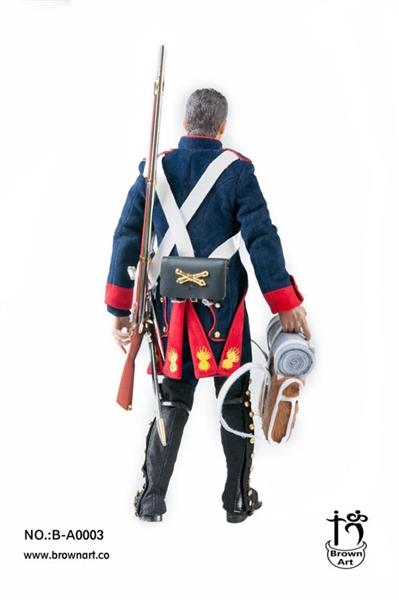 Brown Art Napoleonic Wars Series French Field Artillery Gunner 1//6 Deluxe Ver.