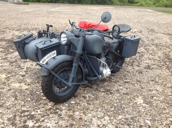 bmw motorcyle with sidecar - caltek - 8021