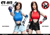 Female Character Set in Red or Blue - CAT Toys 1/6 Scale Accessory