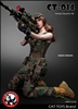 Military Female Accessory Set in Green - CAT Toys 1/6 Scale Accessory