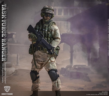US Military 75th Ranger Regiment - Crazy Figure 1/12 Scale Series