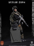 Russian Alpha Special Forces Heavy Shield Hand - Crazy Figure 1/12 Scale Figure