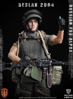 Russian Alpha Special Forces Russian Machine Gunner - Crazy Figure 1/12 Scale