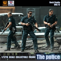 The Police - Crazy Figure 1/12 Scale Figure Set