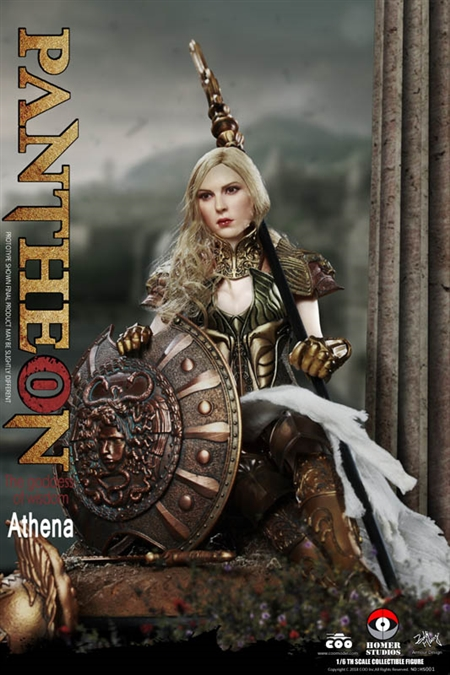 Athena Goddess of Wisdom - Pantheon - COO Model 1/6 Scale Figure