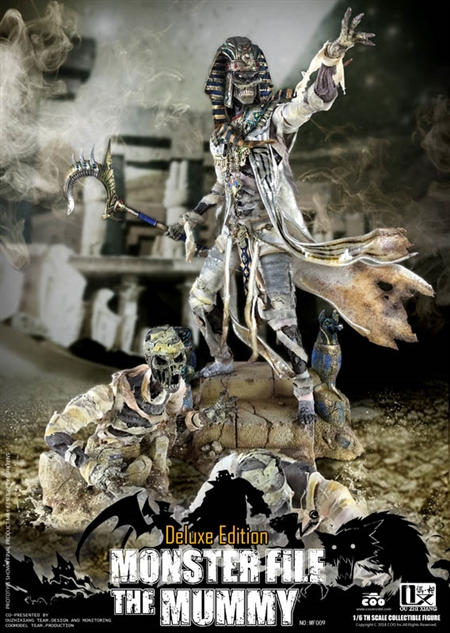 The Mummy - Exclusive Edition - COO Model x OuzhiXiang Monster File Series - COO Model 1/6 Scale Figure