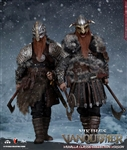 Viking Vanquisher Suite - Berserker and War-Lord and Special Helmet and Buckler - COO Model 1/6 Scale Figure