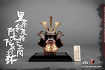 Kabuto Helmet - Black and Gold - COO Model 1/6 Scale Figure